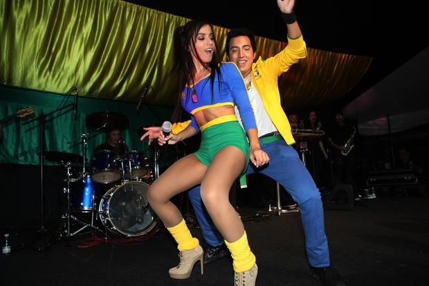 Anitta faz show em São Paulo (Foto: Iwi Onodera / EGO)