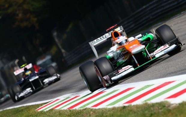 Bruno Senna e Paul di Resta - GP da Itália (Foto: Getty Images)