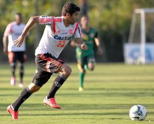 Eduardo da Silva, treino Flamengo (Foto: Mário Farache / Mowa Press)