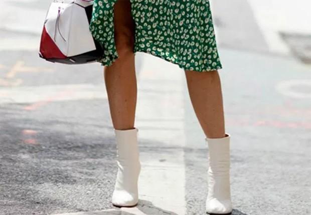 Botas brancas: como usar (Foto: Divulgação)
