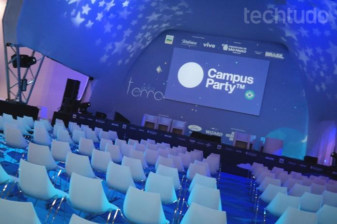 Palco Campus Party (Foto: Melissa Cruz / TechTudo)