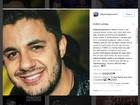 Irmão de Cristiano Araújo publica homenagem na web: 'Te amo demais'