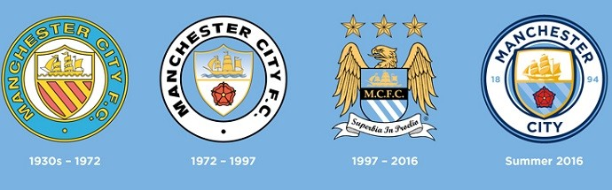 Manchester City confirma novo escudo baseado em desenho de 1972 ... ef0a617c08bd7