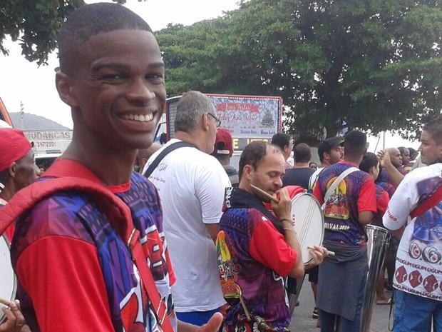 Alegria da Zona Sul desfila em Copacabana (Foto: Norma Santa Rosa/Arquivo pessoal)