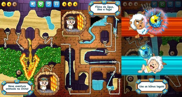 Novo Where is My Water surpreende com puzzles criativos envolvendo fogo (Foto: Divulgação)