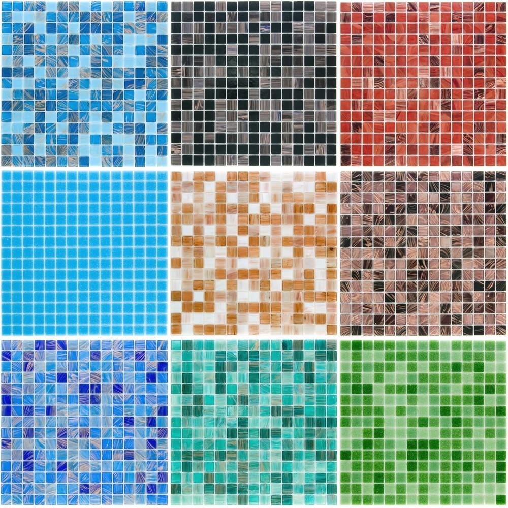 Em vez de azulejos pastilhas coloridas para sua cozinha for Azulejos para sketchup 8