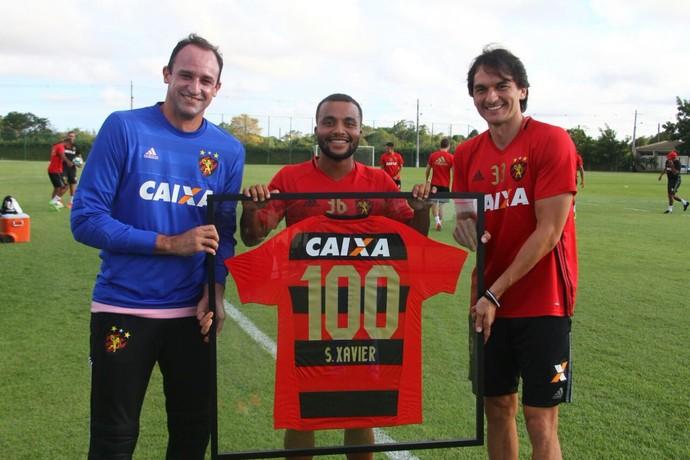 Samuel Xavier (Foto: Williams Aguiar/Sport Club do Recife)