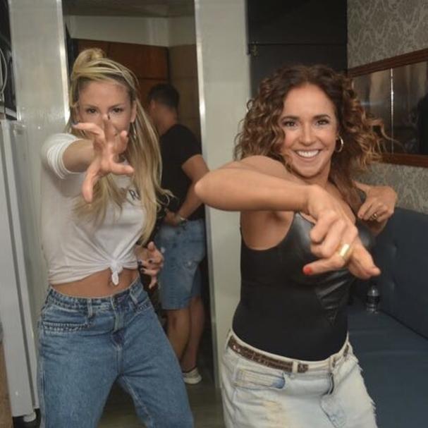 Claudia Leitte e Daniela Mercury (Foto: Reprodução Instagram)
