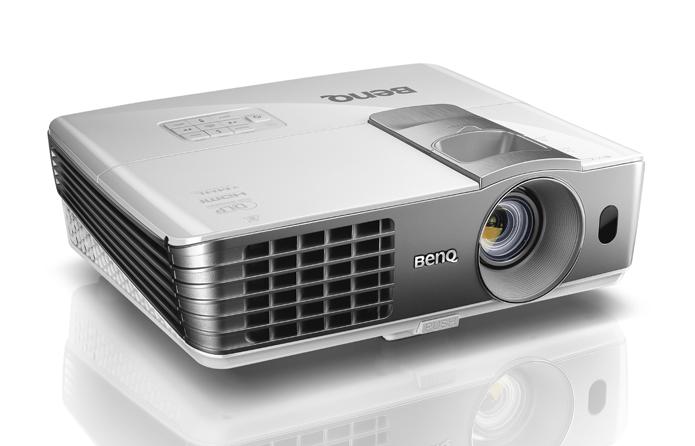 Novos projetores da BenQ são voltados para quem curte cinema e jogos (Foto: Divulgação/BenQ)