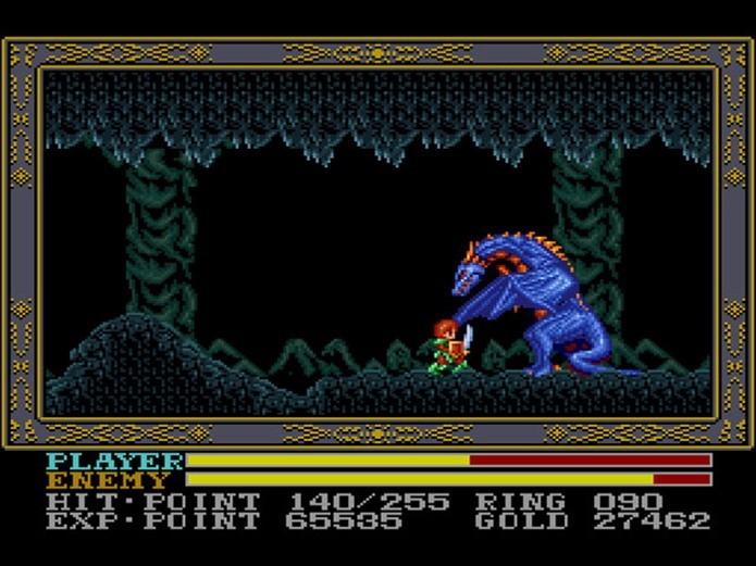 Ys também deu as caras no Mega Drive (Foto: Reprodução)