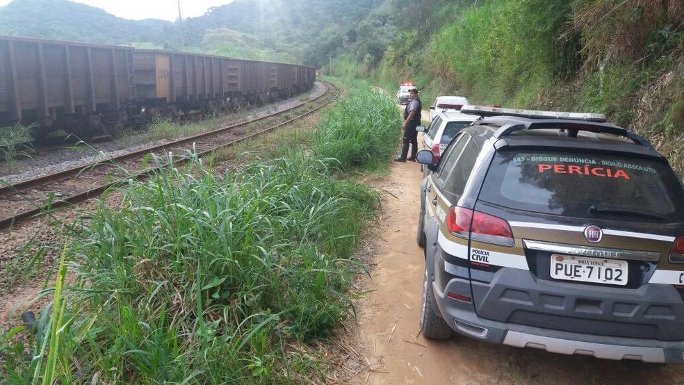 Vítima era natural de Barbacena e acampava com amigos próximo a local de acidente (Foto: Polícia Militar/Divulgação)