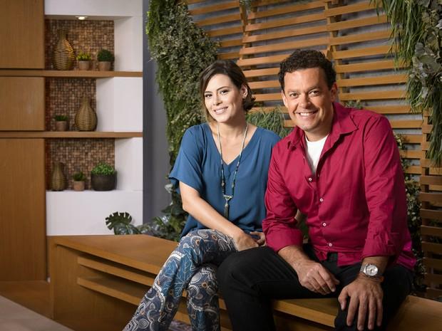Casal do Bem Estar - Fernando Rocha e Michelle Loreto (Foto: TV Globo)