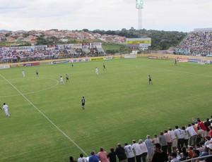 Bragantino x Palmeiras, no estádio Nabi Abi Chedid (Foto: Carlos Augusto Ferrari / globoesporte.com)