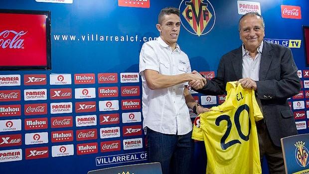 Gabriel Paulista é apresentado pelo Villareal (Foto: ACF FOTOGRAFÍA/Site Oficial do Villareal)