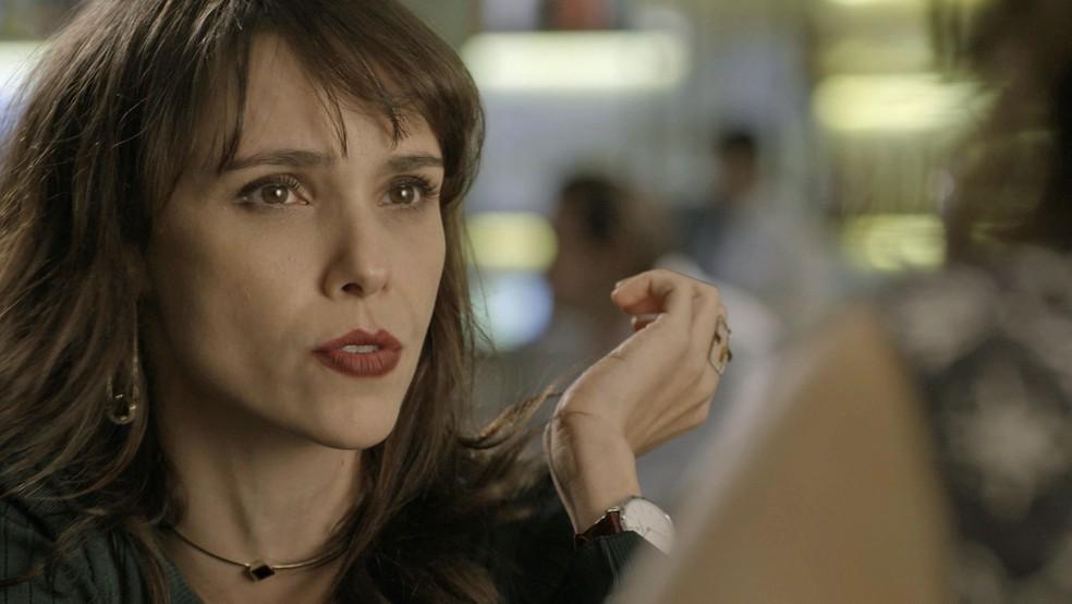 APAIXONADA!!!! Por esta você não esperava, hein Irene?! (Foto: TV Globo)