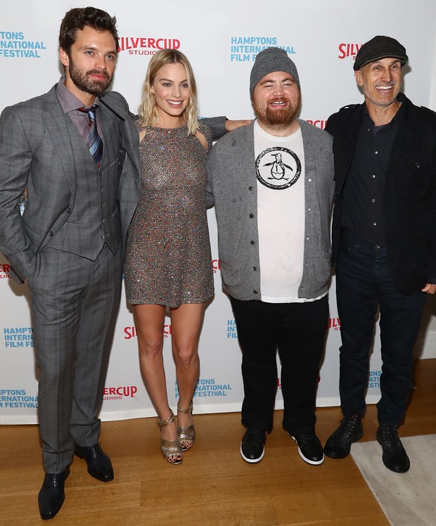 Sebastian Stan, Margot Robbie, Paul Walter Hauser e Craig Gillespie (Foto: Getty Images)