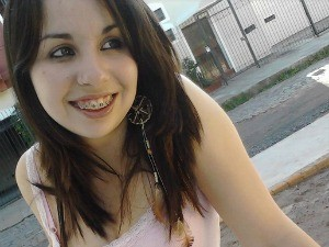 Leandra Toniolo - boate Kiss - dois anos (Foto: Arquivo Pessoal)