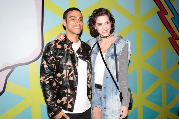 Sophia Abrahão e Sérgio Malheiros (Foto: Rafael Cusato / EGO)