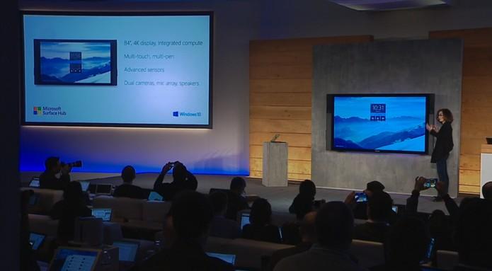 Windows 10 e Surface Hub (Foto: Reprodução)