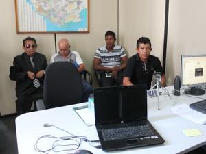 Jailson Pereira de Jesus foi testemunha de defesa de Raimundo Nonato (Foto: Luis Henrique Oliveira/ G1 AM)