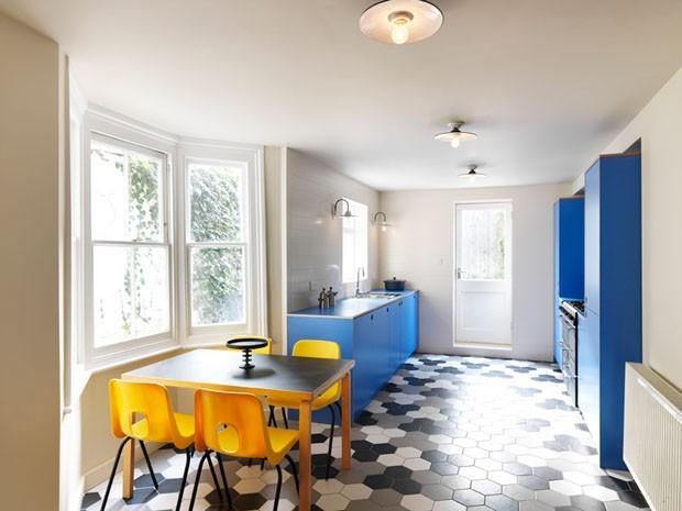 Cozinhas azuis (Foto: reprodução)