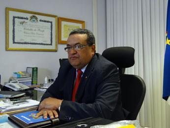 Wilson Damázio, secretário de Defesa Social de Pernambuco (Foto: Katherine Coutinho / G1 PE)