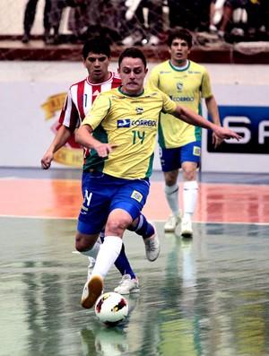 futsal Rodrigo brasil paraguai  (Foto: Zerosa Filho / CBFS)