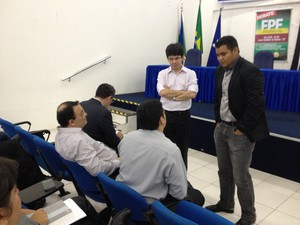 Debate discutiu alternativas para superar perdas do FPE (Foto: Abinoan Santiago/G1)