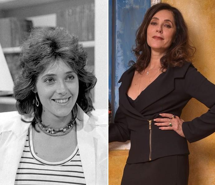 Christiane Torloni como a Cristina de 'Chega Mais', em 1980. A atriz vai interpretar Iolanda na nova novela das nove  (Foto: Nelson Di Rago/TV Globo / Caiuá Franco/ Globo)