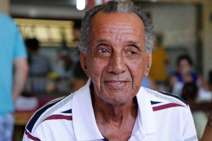 Paulinho Almeida recebe homenagens pelos seus 80 anos em São João da Barra (Foto: Daniela Abreu/Ururau)