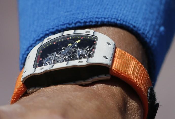 Rafael Nadal, Relógio (Foto: Reuters)