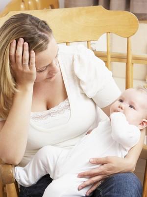 mãe e bebê_ depressão pós-parto (Foto:   Shutterstock)
