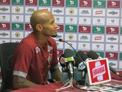 Wellington Silva Fluminense (Foto: Edgard Maciel de Sá)