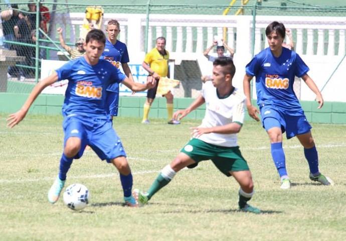 Palmeiras x Cruzeiro, Copa Brasil de Futebol Infantil, sub-15, Votorantim (Foto: André Reis / SECOM Votorantim)