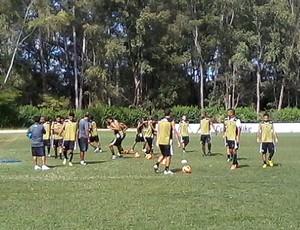 botafogo-pb, treino, vitória da conquista (Foto: Divulgação / Botafogo-PB)