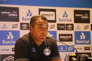 Roger Machado, técnico do Grêmio (Foto: Eduardo Moura / GloboEsporte.com)