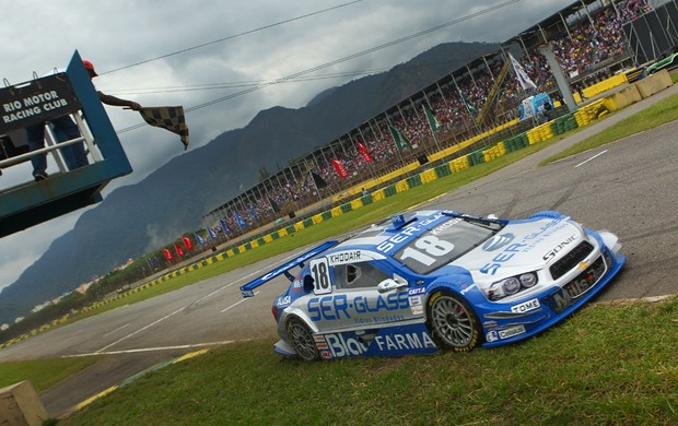 Stock Car- Allam Khodair vence com o carro 18 da equipe Vogel no Rio de Janeiro (Foto: Luca Bassani / Divulga&#231;&#227;o)