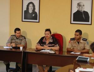 Reunião na FPF discute segurança nos estádios (Foto: João Neto)