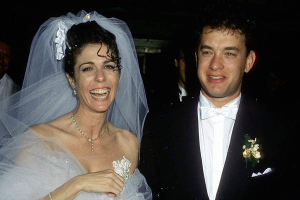Tom Hanks e Rita Wilson, casados desde abril de 1988. (Foto: Getty Images)