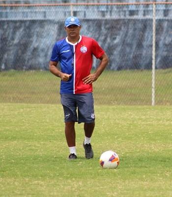 Charles, treino do Bahia (Foto: Divulgação / EC Bahia)
