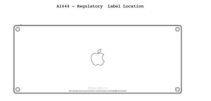 Teclado Wireless da Apple também pode vir com bateria recarregável (Foto: Divulgação/US Federal Comission)