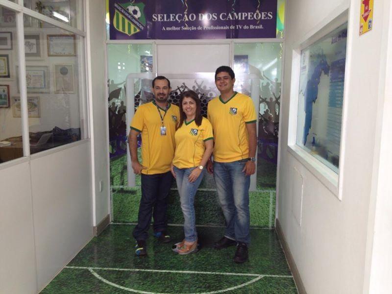 Equipe de Marketing da TV Grande Rio (Foto: Arquivo Pessoal)