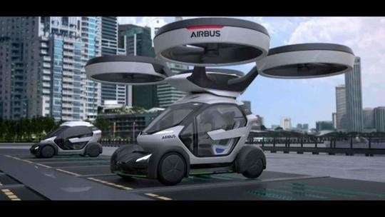 Empresas investem milhões em carros com asas e hélices