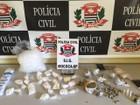 Trio suspeito de assaltar sítio é preso com maconha e 206 pinos de cocaína