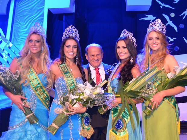 Vencedoras do concurso (Foto: Welber Skal/Divulgação)