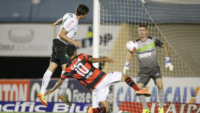 Atlético-GO x América-MG - Série B 2015 (Foto: Cristiano Borges / O Popular)