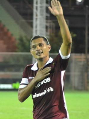Léo Oliveira, meia da Desportiva Ferroviária (Foto: Henrique Montovanelli/Desportiva Ferroviária)