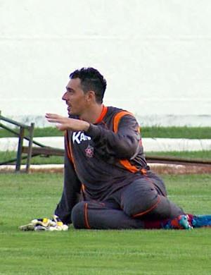 Goleiro Leandro, do Boa Esporte (Foto: Reprodução EPTV)