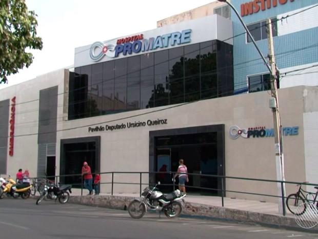 Caso ocorreu dentro de hospital de Juazeiro, na Bahia (Foto: Reprodução/TV Bahia)