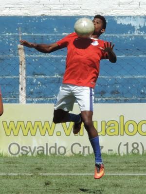 Júnior Berimbau Osvaldo Cruz Prudente (Foto: Ronaldo Nascimento / GloboEsporte.com)